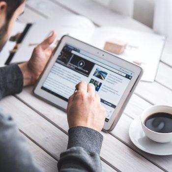 reading blog post newsletter